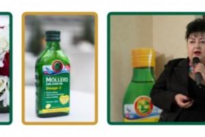 Möller's Cod Liver Oil Omega-3 – evenimentul de lansare în România, Dna Prof. Dr. Evelina Moraru