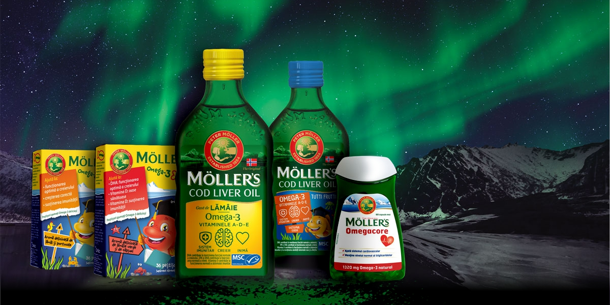 Moller's Omega-3 vitamina D